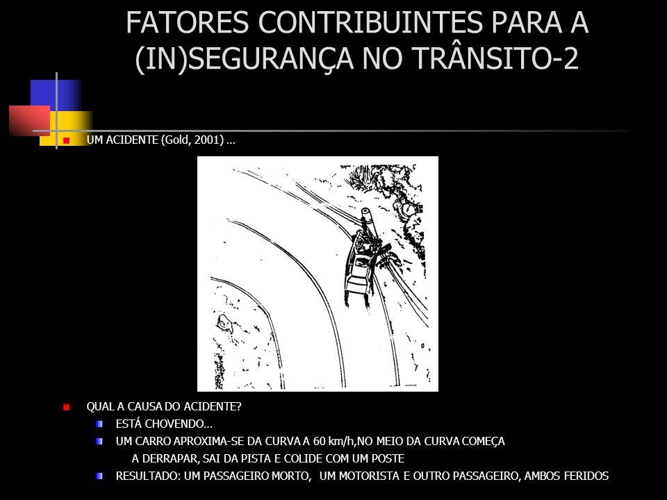 FATORES CONTRIBUINTES PARA A (IN)SEGURANÇA NO TRÂNSITO-2