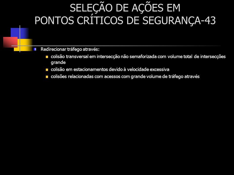 SELEÇÃO DE AÇÕES EM PONTOS CRÍTICOS DE SEGURANÇA-43