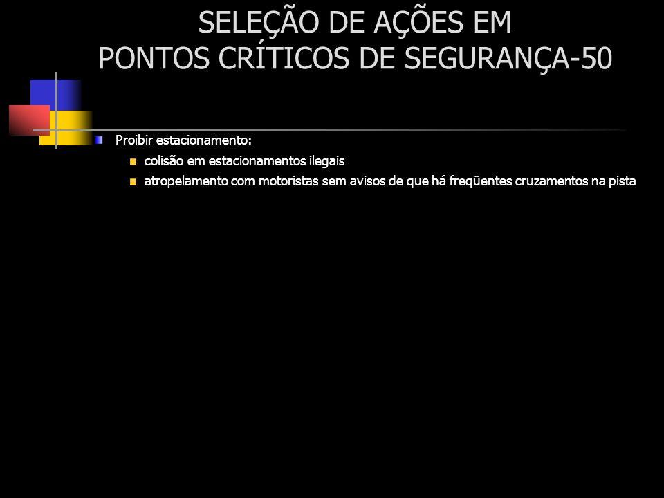 SELEÇÃO DE AÇÕES EM PONTOS CRÍTICOS DE SEGURANÇA-50
