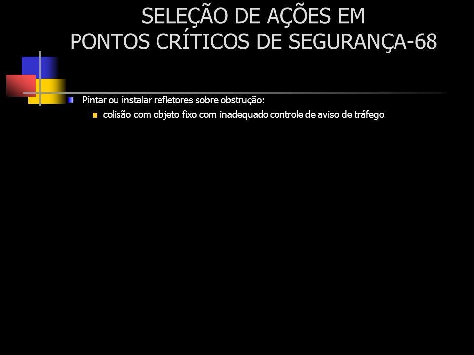 SELEÇÃO DE AÇÕES EM PONTOS CRÍTICOS DE SEGURANÇA-68