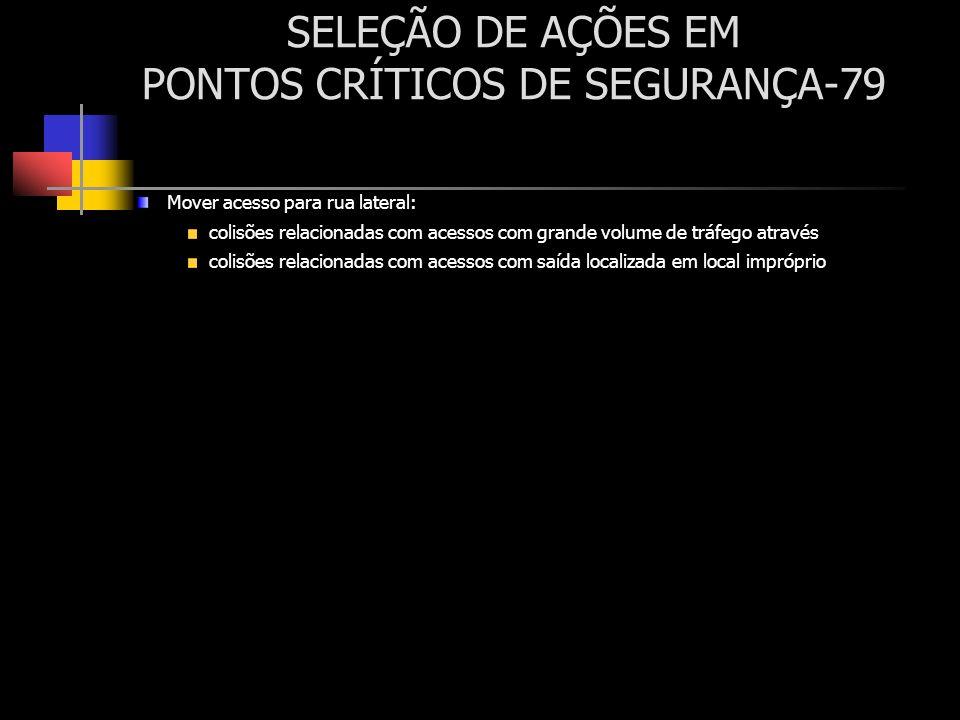 SELEÇÃO DE AÇÕES EM PONTOS CRÍTICOS DE SEGURANÇA-79