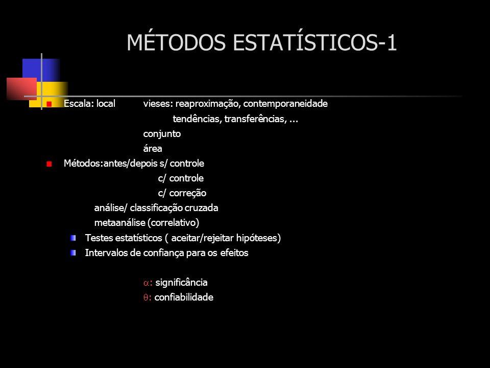 MÉTODOS ESTATÍSTICOS-1