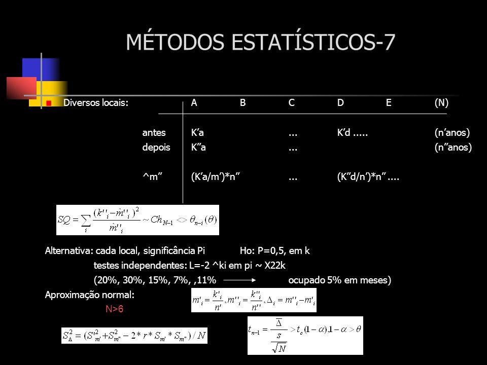 MÉTODOS ESTATÍSTICOS-7