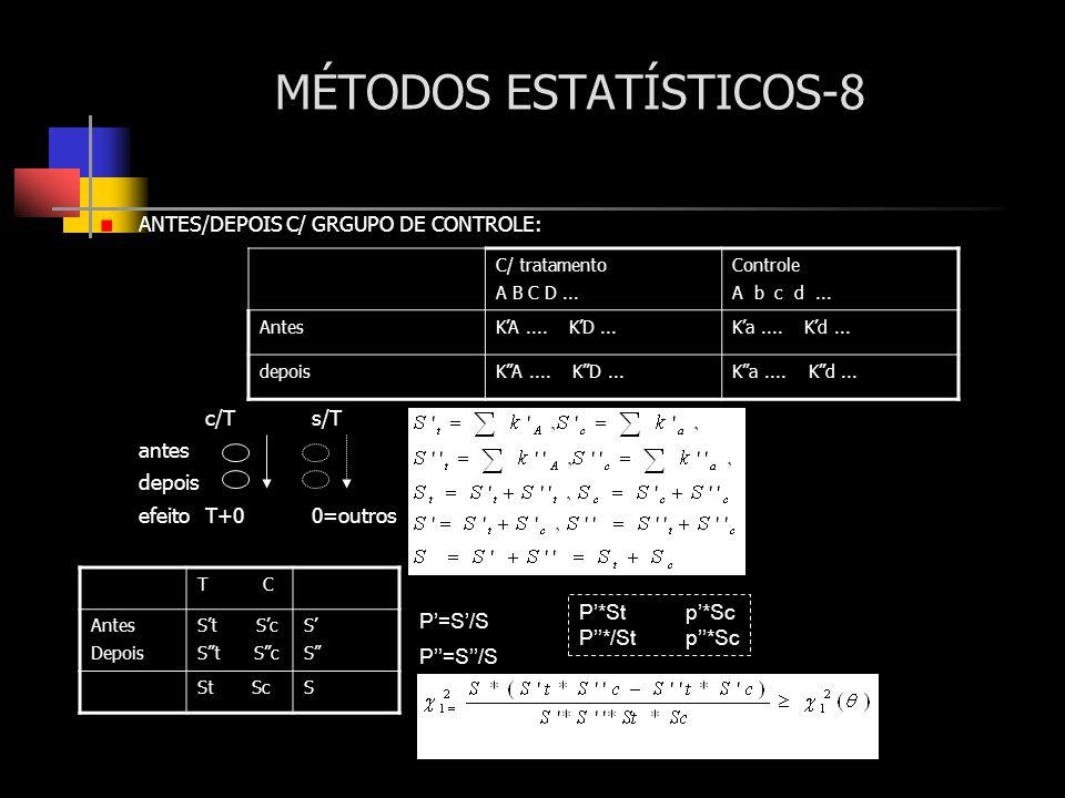 MÉTODOS ESTATÍSTICOS-8