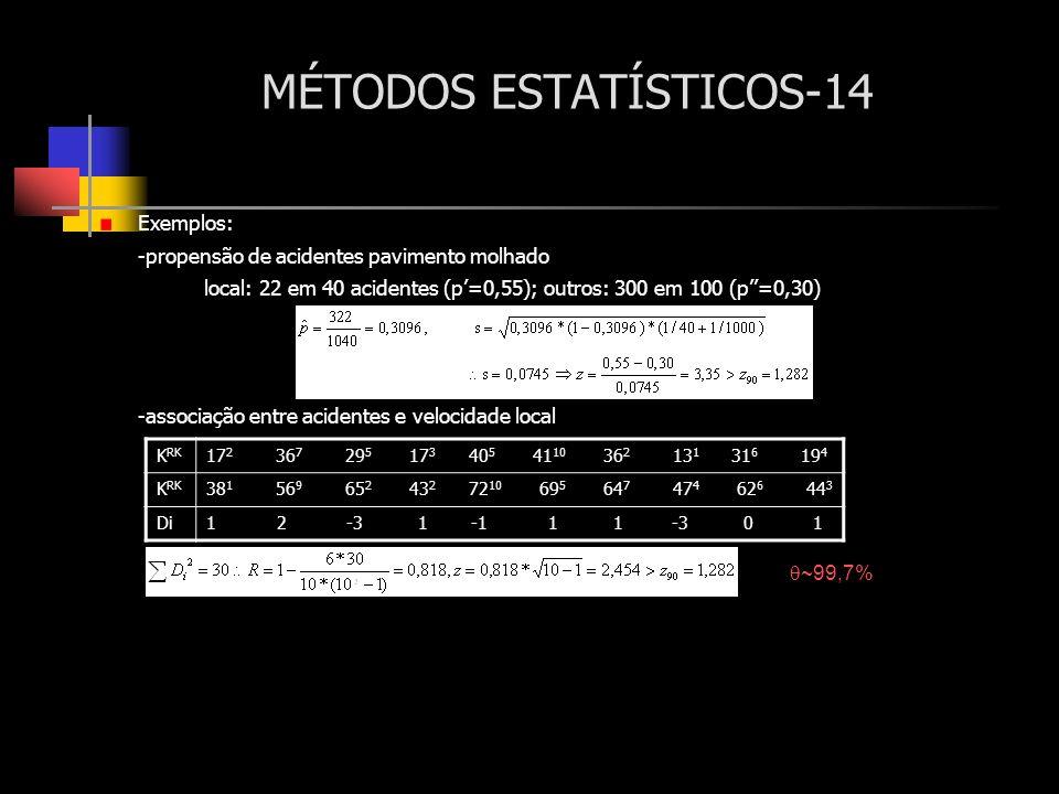 MÉTODOS ESTATÍSTICOS-14