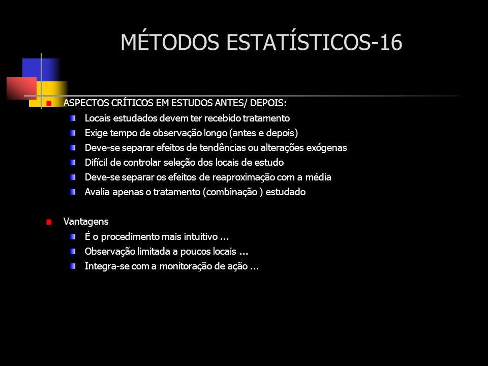 MÉTODOS ESTATÍSTICOS-16