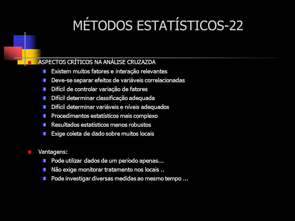 MÉTODOS ESTATÍSTICOS-22