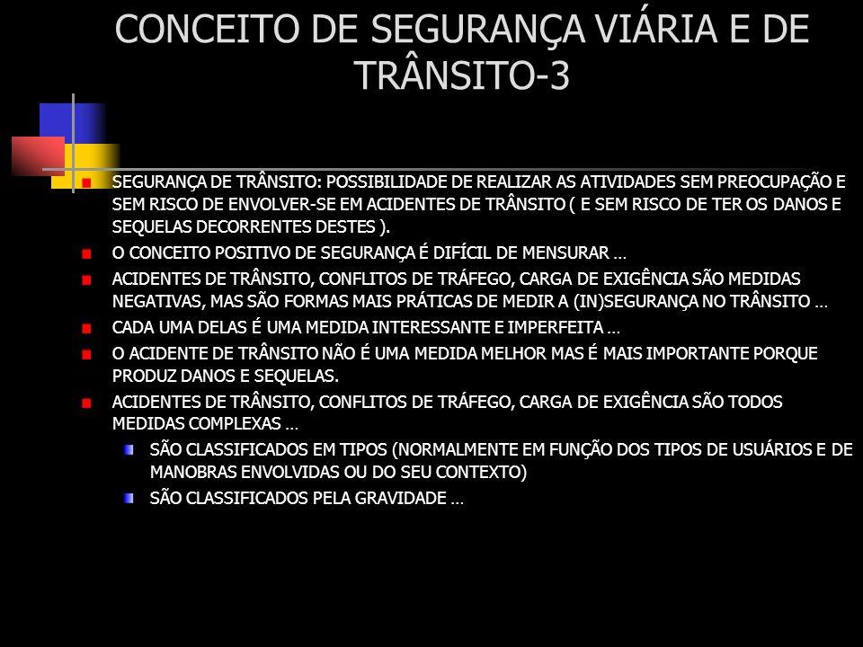 CONCEITO DE SEGURANÇA VIÁRIA E DE TRÂNSITO-3