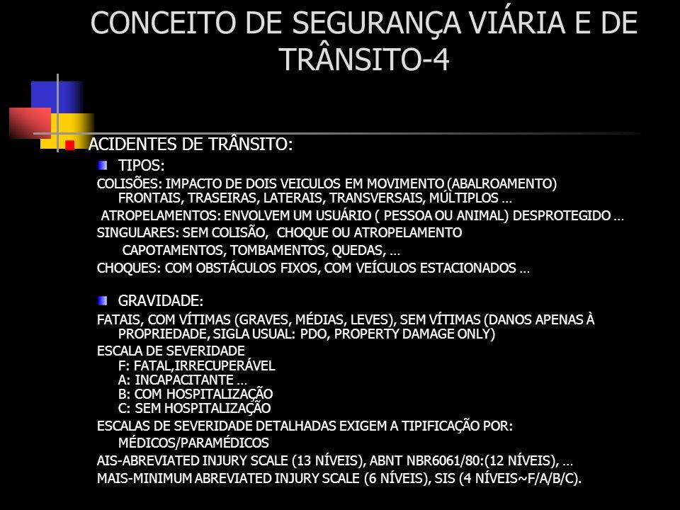 CONCEITO DE SEGURANÇA VIÁRIA E DE TRÂNSITO-4