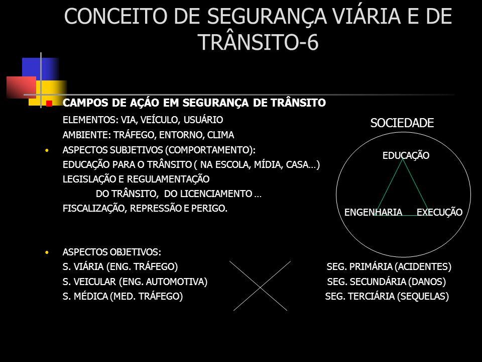CONCEITO DE SEGURANÇA VIÁRIA E DE TRÂNSITO-6
