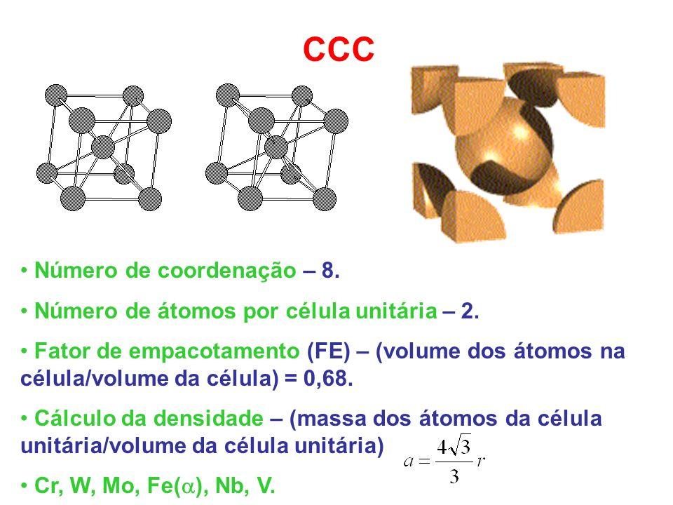 CCC Número de coordenação – 8.