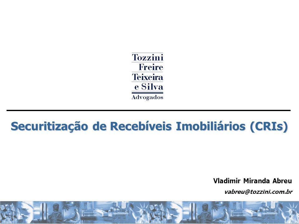 Securitização de Recebíveis Imobiliários (CRIs)