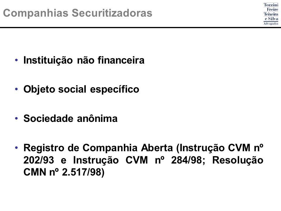 Companhias Securitizadoras
