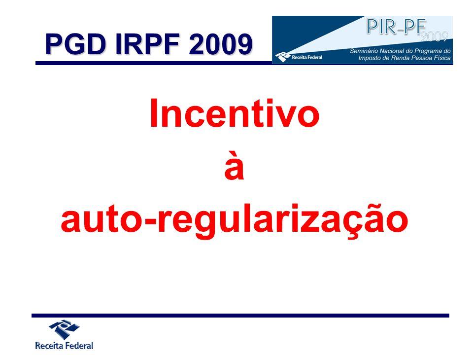 Incentivo à auto-regularização
