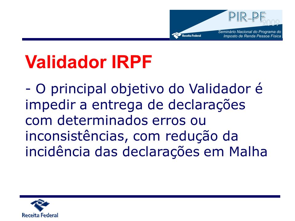 Validador IRPF