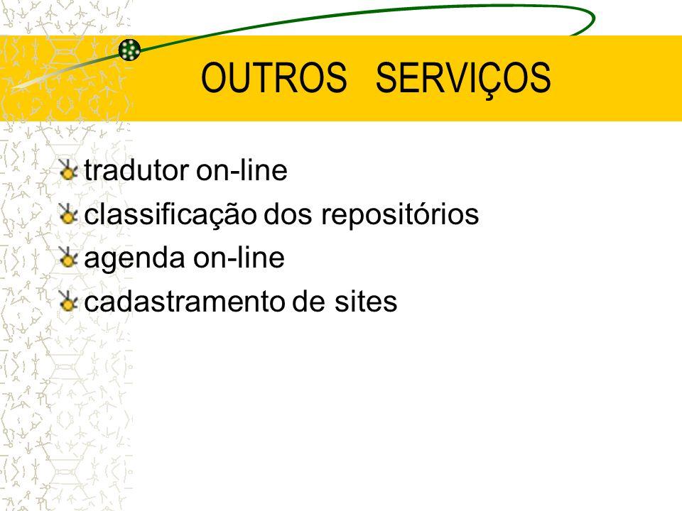 OUTROS SERVIÇOS tradutor on-line classificação dos repositórios