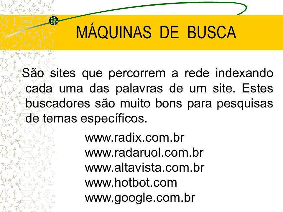 MÁQUINAS DE BUSCA