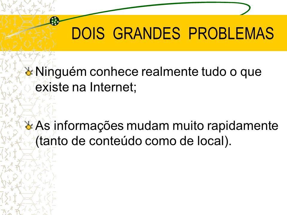 DOIS GRANDES PROBLEMAS