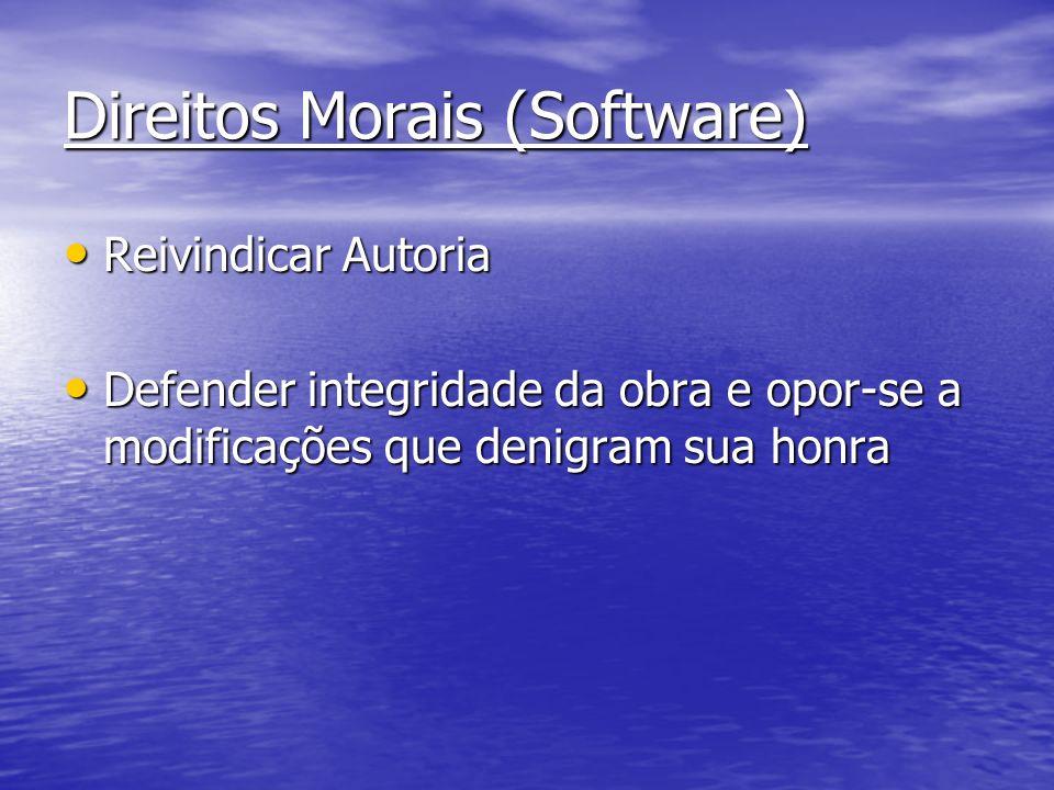 Direitos Morais (Software)