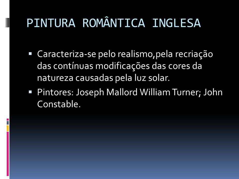 PINTURA ROMÂNTICA INGLESA