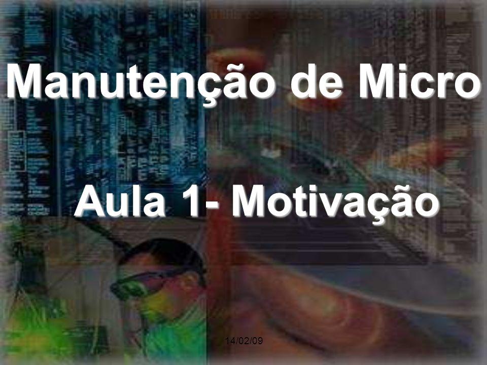 Manutenção de Micro Aula 1- Motivação 14/02/09