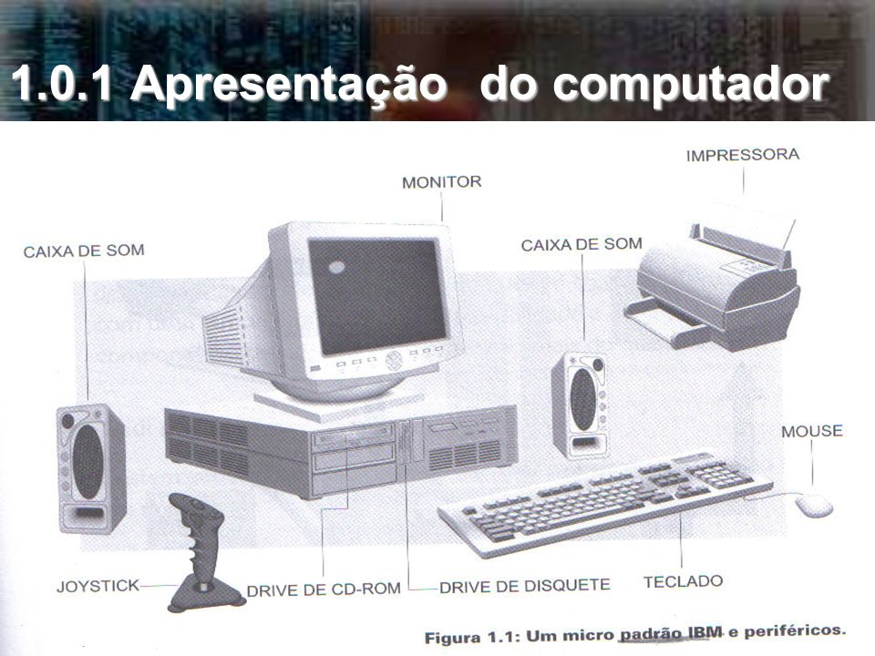 1.0.1 Apresentação do computador