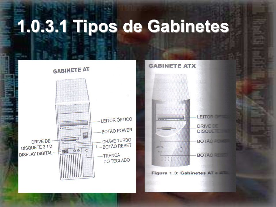 1.0.3.1 Tipos de Gabinetes
