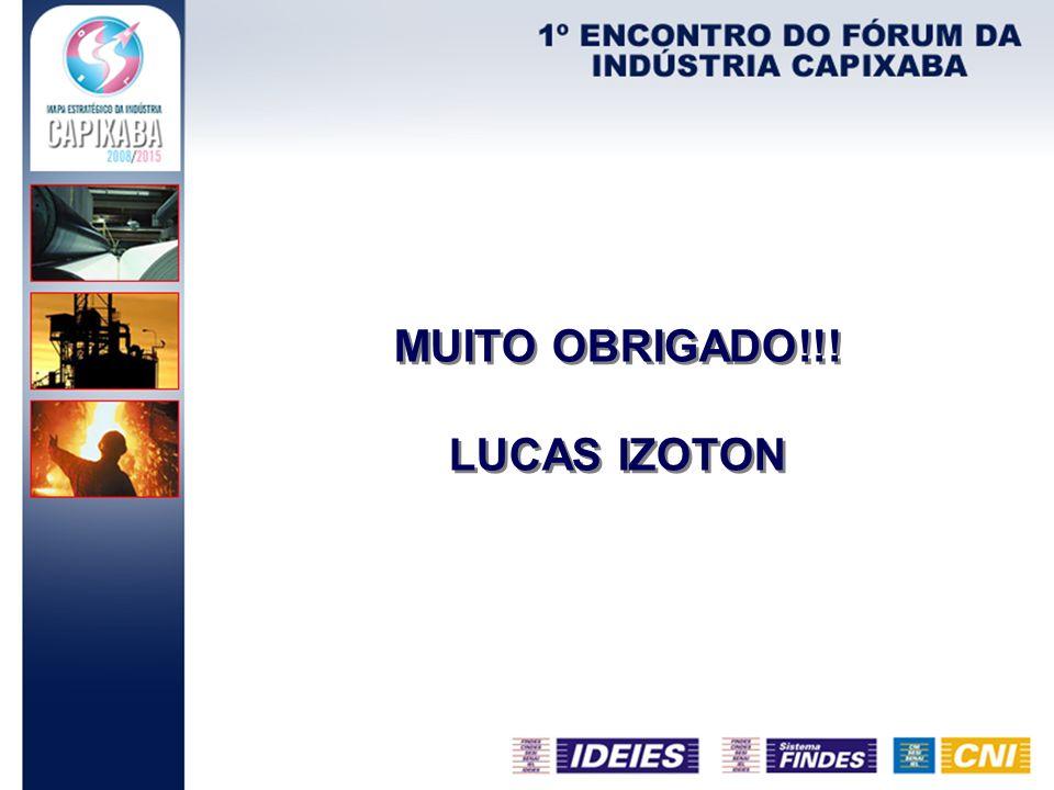 MUITO OBRIGADO!!! LUCAS IZOTON