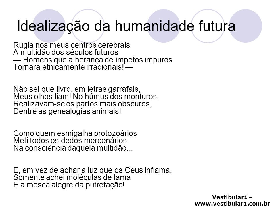 Idealização da humanidade futura