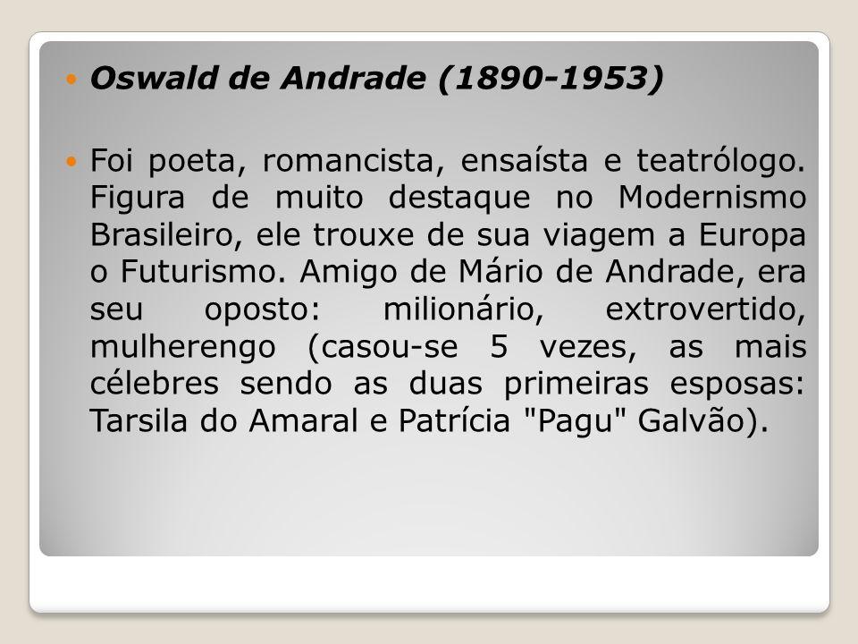 Oswald de Andrade (1890-1953)