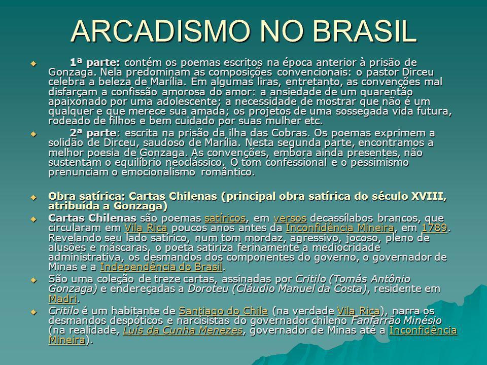 ARCADISMO NO BRASIL