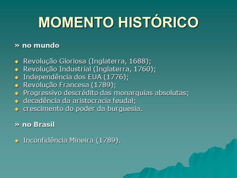 MOMENTO HISTÓRICO » no mundo Revolução Gloriosa (Inglaterra, 1688);