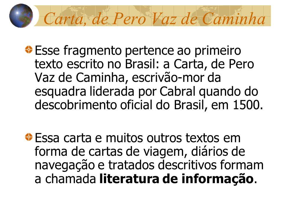 Carta, de Pero Vaz de Caminha