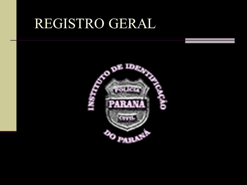 REGISTRO GERAL