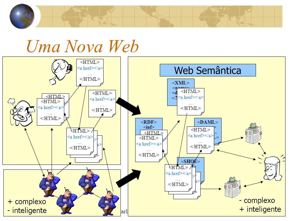 Uma Nova Web Web Semântica - complexo + complexo + inteligente