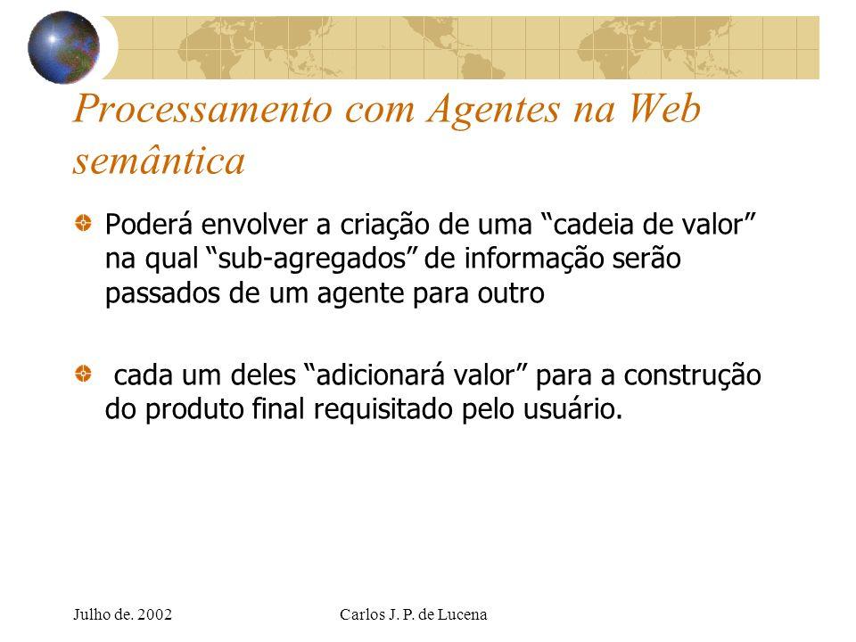 Processamento com Agentes na Web semântica