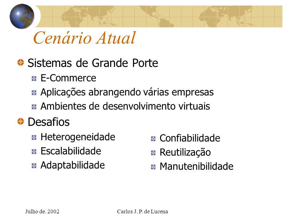 Cenário Atual Sistemas de Grande Porte Desafios E-Commerce