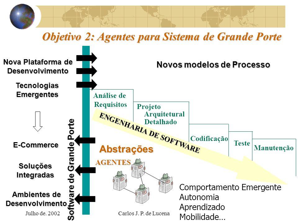 Objetivo 2: Agentes para Sistema de Grande Porte