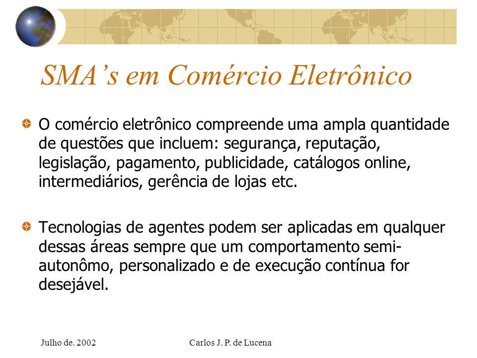 SMA's em Comércio Eletrônico