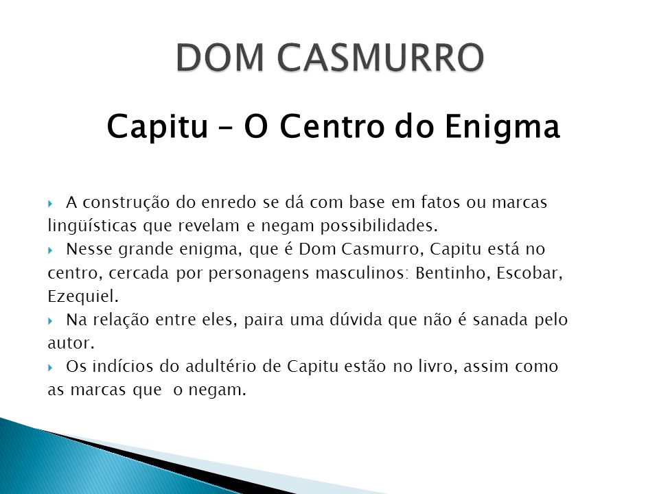 Capitu – O Centro do Enigma