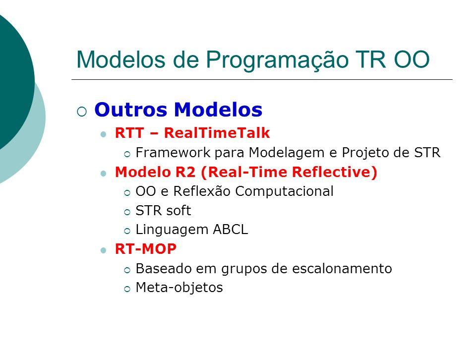 Modelos de Programação TR OO