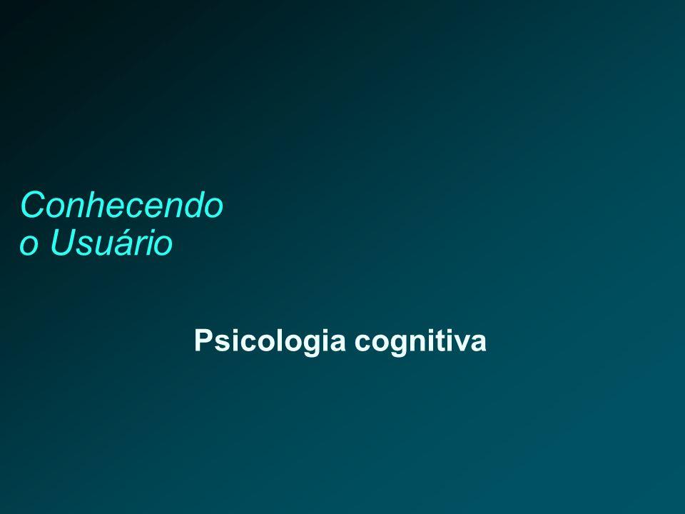Conhecendo o Usuário Psicologia cognitiva 31