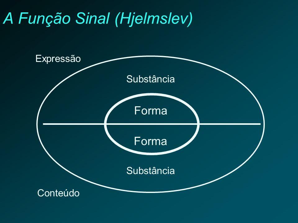 A Função Sinal (Hjelmslev)