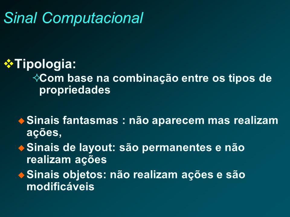 Sinal Computacional Tipologia: