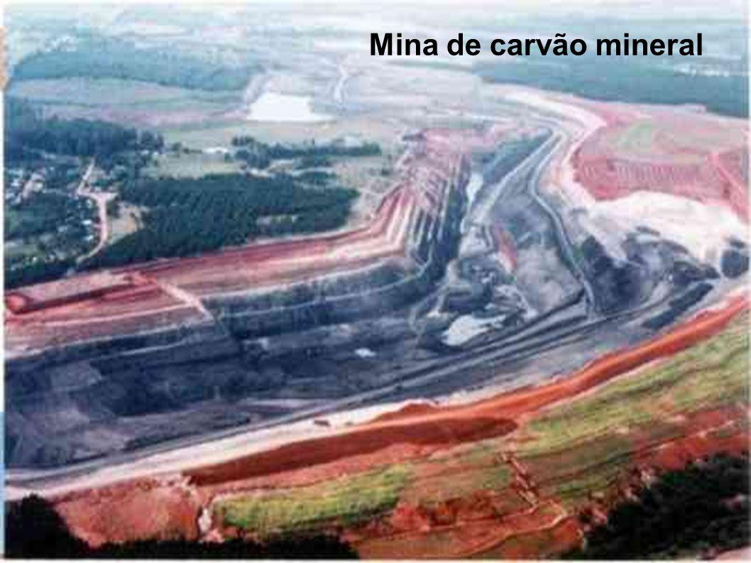 Mina de carvão mineral