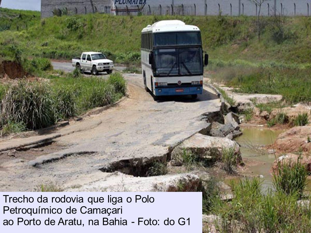 Situação da BR-163 é pior no Eatado do Pará, onde a estrada está abandonada