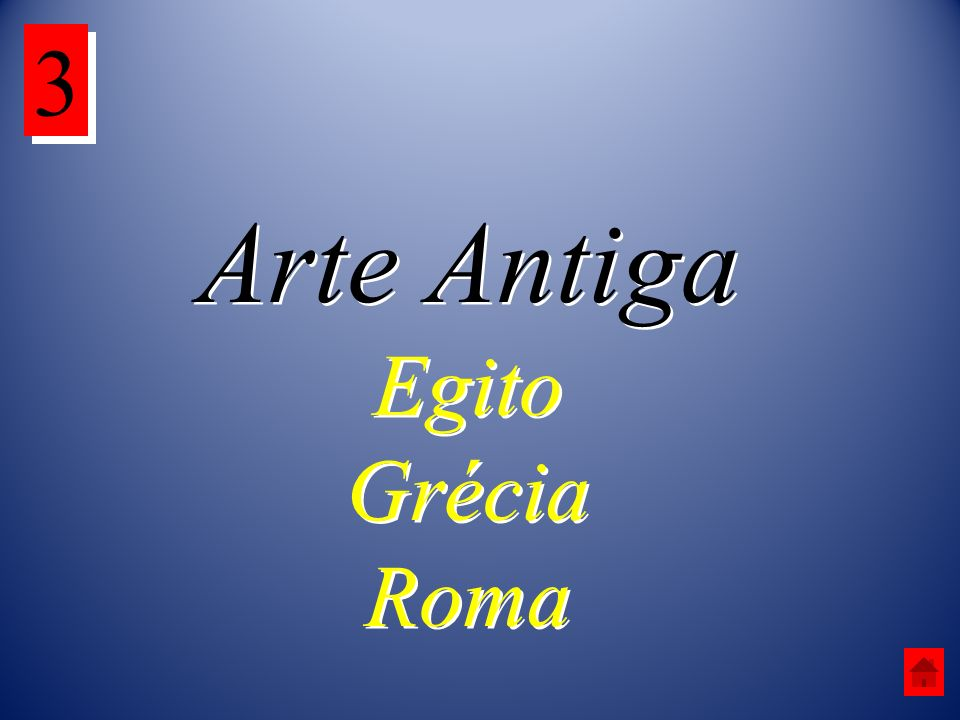 3 Arte Antiga Egito Grécia Roma