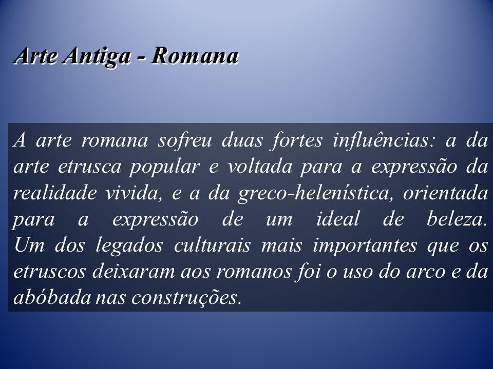 Arte Antiga - Romana