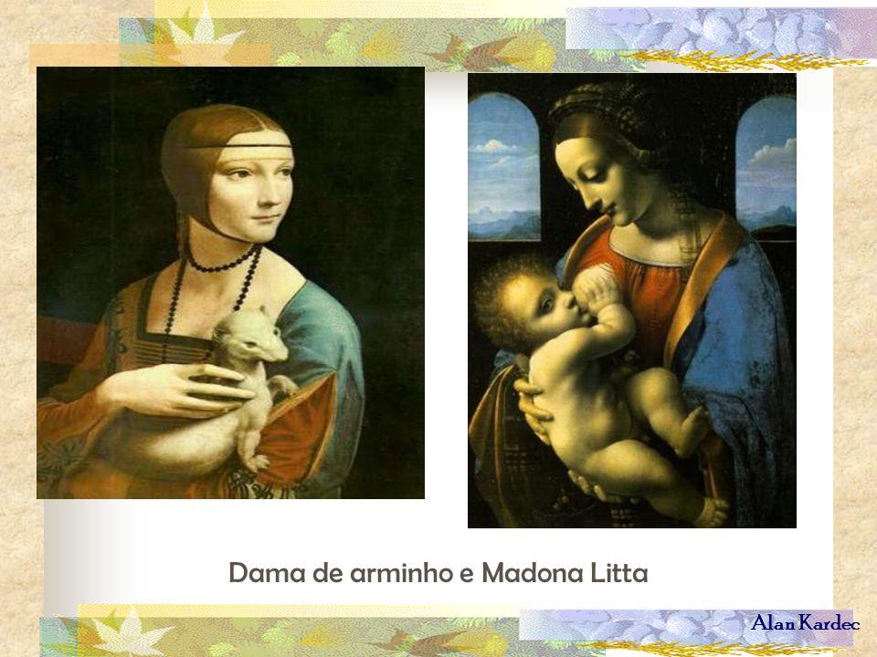 Dama de arminho e Madona Litta