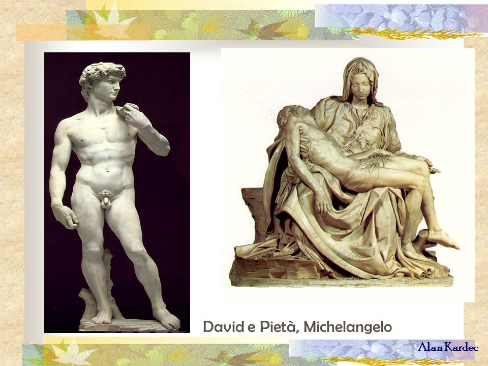 David e Pietà, Michelangelo